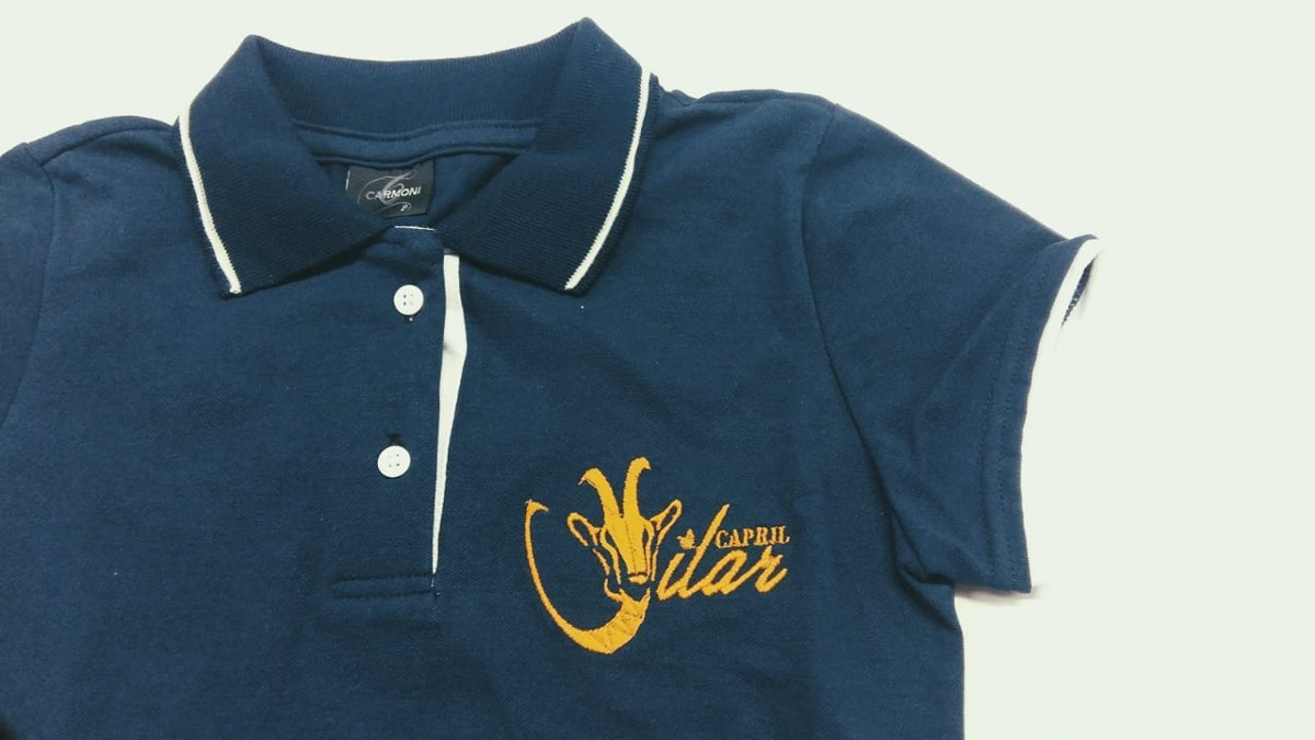 44faacc59161f kit 3 camisas gola polo bordado personalizado empresa logo. Carregando zoom.
