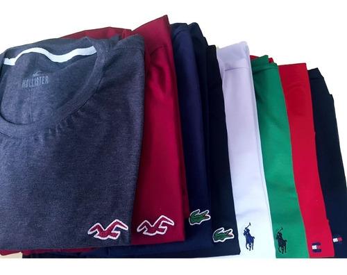 kit 3 camisas masculinas plus size tamanhos grandes g1 ao g7