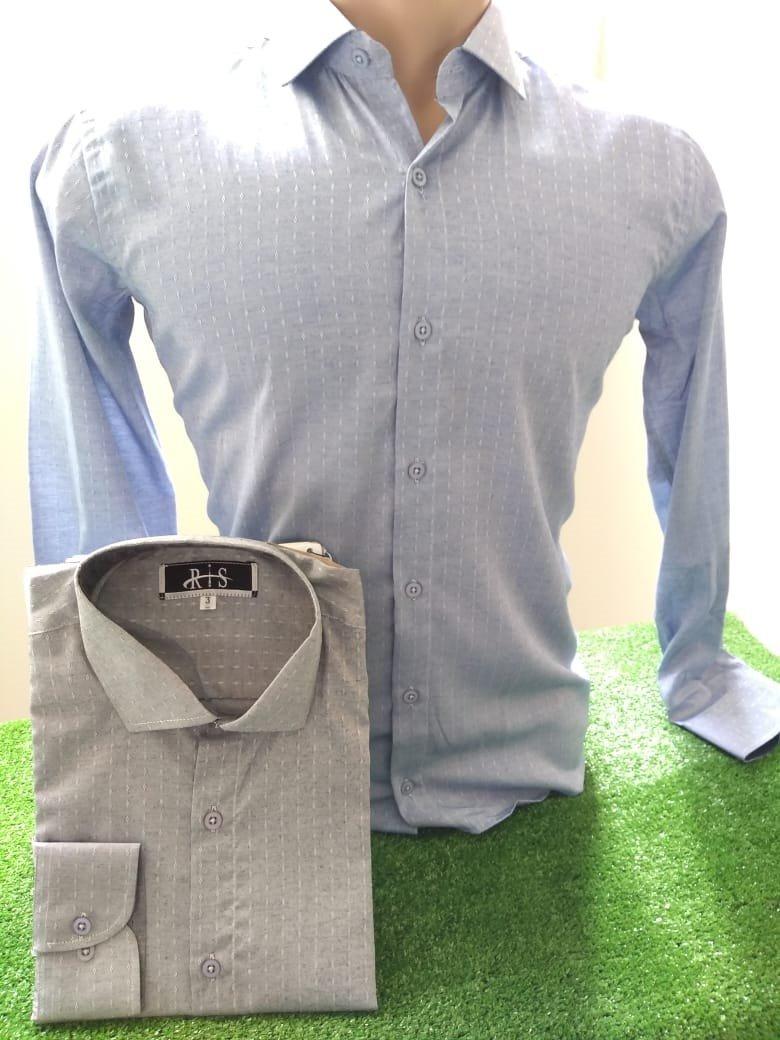 Kit 3 Camisas Masculinas Social Slim Fit Blusa Manga Longa X - R ... fed8387d64872