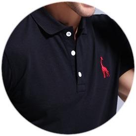 Kit 3 Camisas Polo Giraffe - Varias Cores - Original - R  199 a4f01fa0c09ae