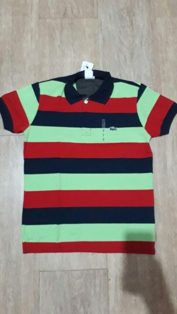 552a0431a10 kit 3 camisas polo lacoste live slim fit peruana original. Carregando zoom.