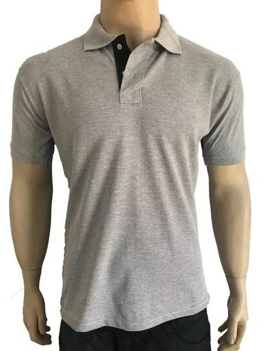 b6416a8645 Kit 3 Camisas Polo Masculina Camiseta Blusa De Luxo Atacado - R  58 ...