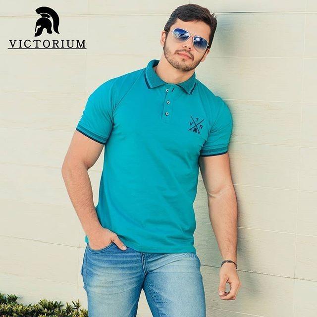 c6e434b608 Kit 3 Camisas Pólo Original 100% Algodão Promoção! - R  119