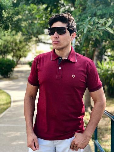 c5138ad581 Kit 3 Camisas Pólo Original 100% Algodão Promoção! - R  148