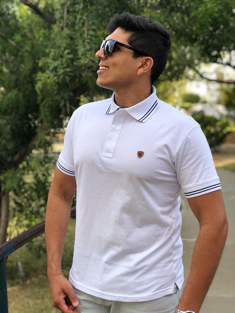 d9e87b399c kit 3 camisas pólo original 100% algodão promoção! Carregando zoom.