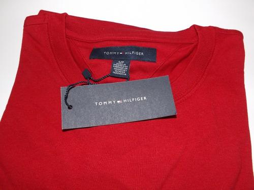 kit 3 camisas tommy hilfiger original 100% algodão promoção