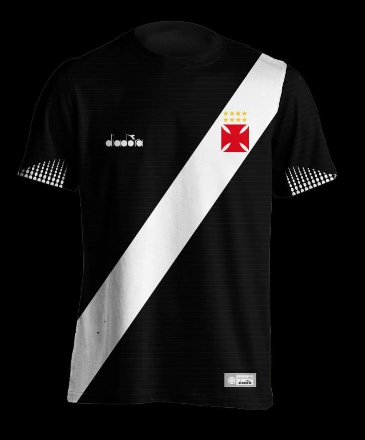 kit 3 camisas vasco preta 2018 nova. Carregando zoom. 3efd3e1c96201