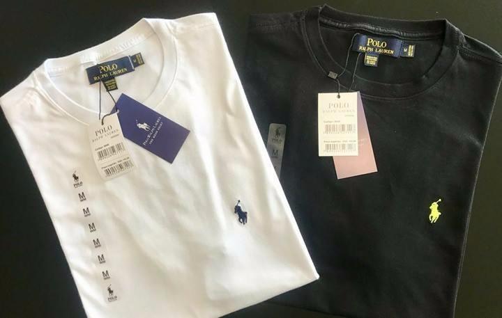 Kit 3 Camiseta Basica Ralph Lauren Original Peruana - R  164 71d9c2f2763