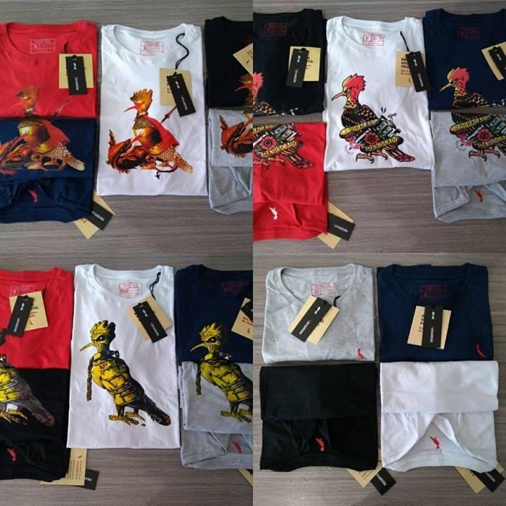 Kit 3 Camiseta Basica Ralph Lauren Original Peruana - R  164 6583e2374f1