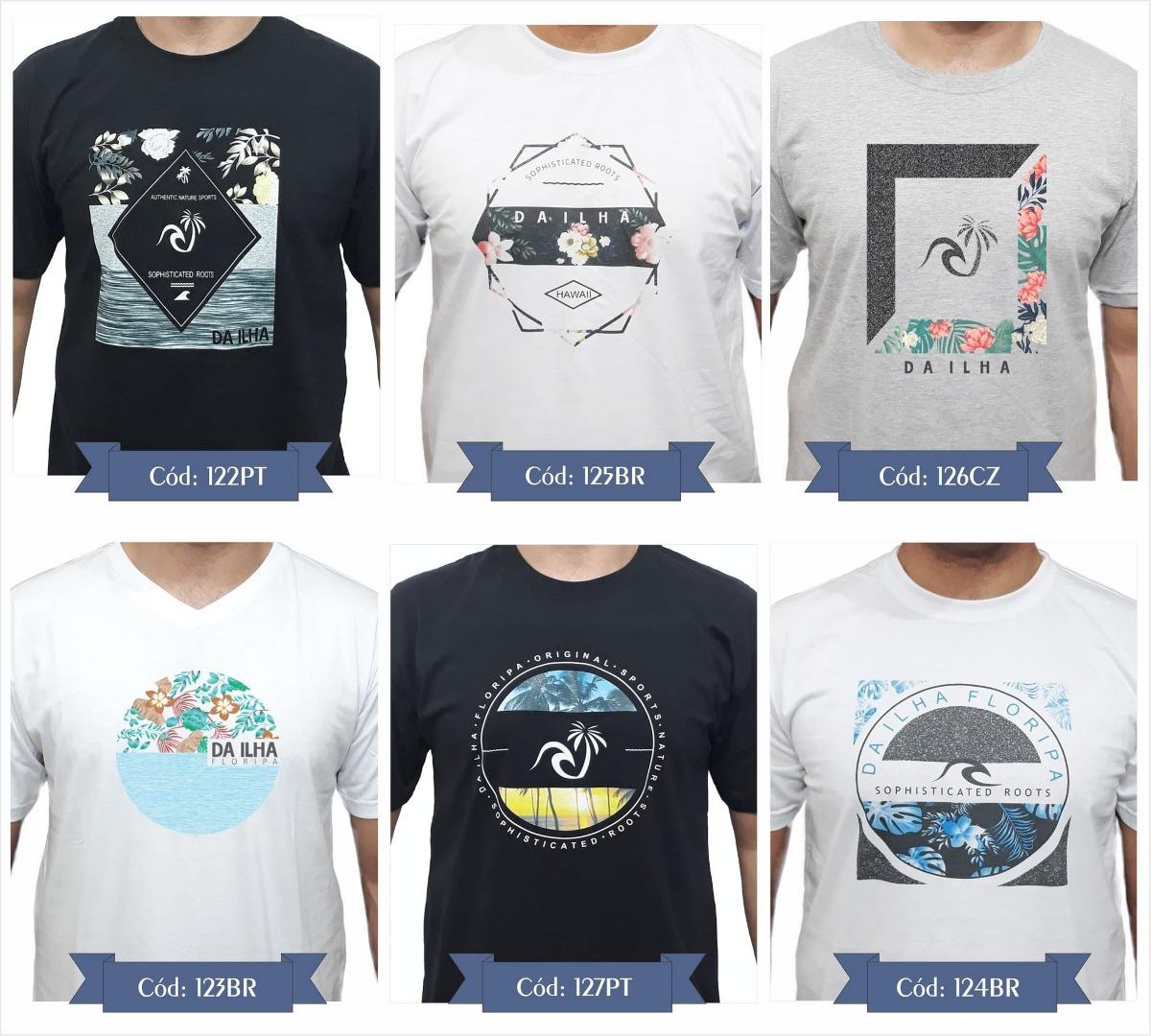 7f6031a61d kit 3 camiseta original camisas promoção combo top qualidade. Carregando  zoom.