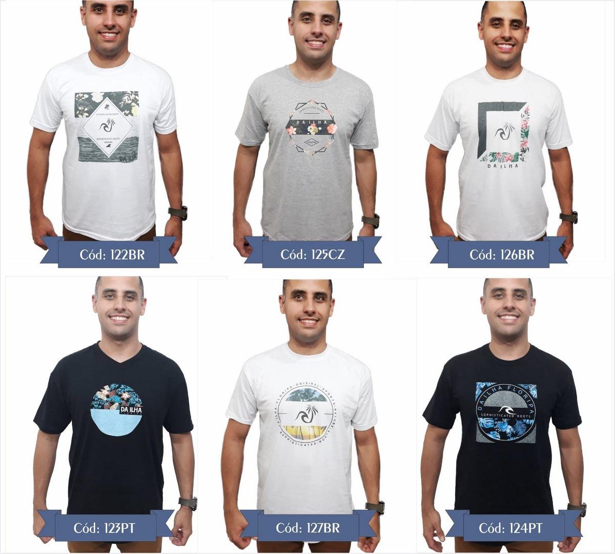 c2a3e3027d kit 3 camiseta original camisas promoção marca top qualidade. Carregando  zoom.