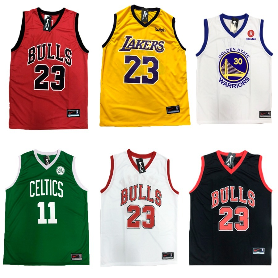 13f133968a kit 3 camiseta regata basquete bulls celtcs lakers usa mais. Carregando  zoom.