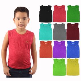 f8d716ebdf Kit De Camisetas Regatas Infantil Masculina - Calçados