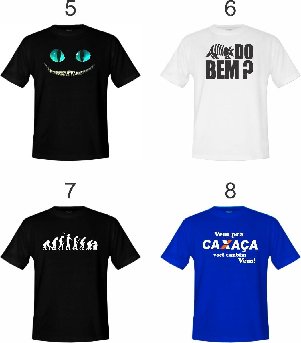 2013dafd5d4a8 kit 3 camisetas adulto vários modelos - escolha já a sua ! Carregando zoom.