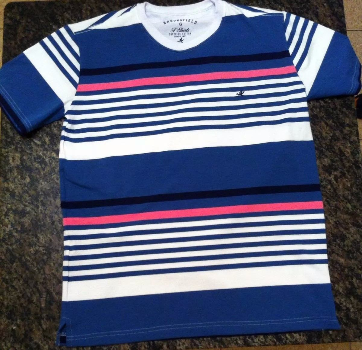 kit 3 camisetas brooks listradas. Carregando zoom. dfbe774aea30d