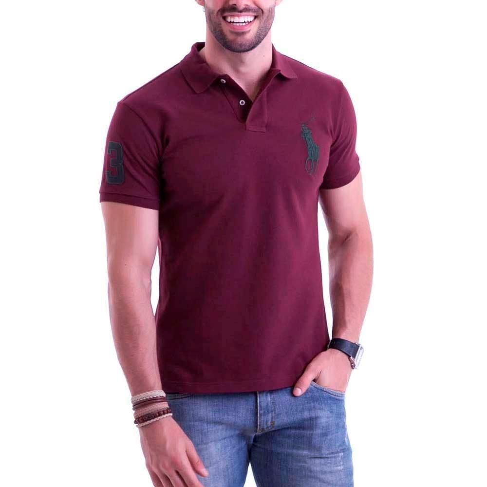 Kit 3 Camisetas Gola Polo Masculina Grandes Marcas Revenda - R  64 ... 05504aca5c7d1