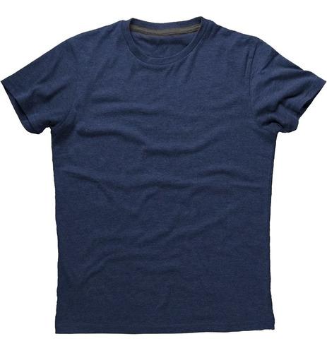 kit 3 camisetas masculina básica algodão - original newbeat