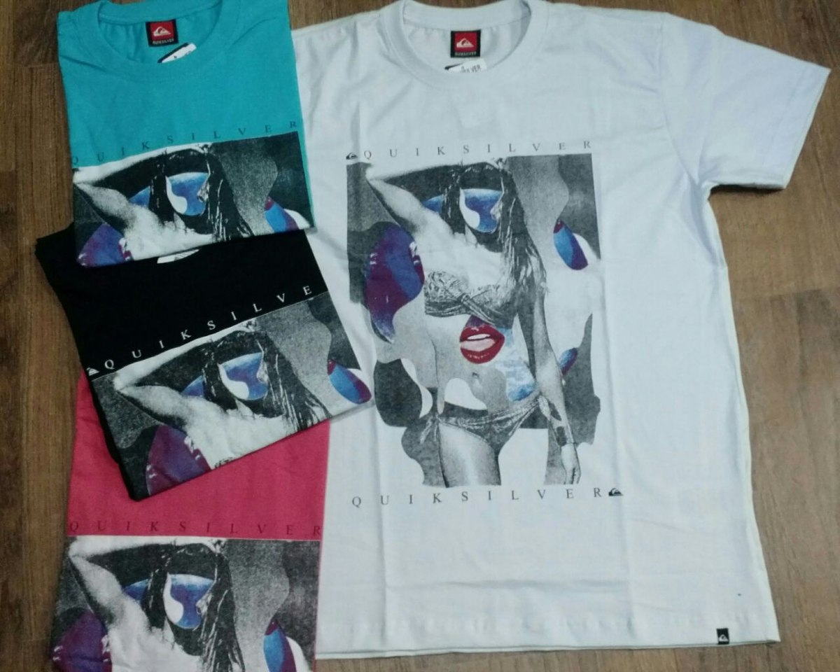 kit 3 camisetas quiksilver original frete gratis!! Carregando zoom. dbaf5c3f305