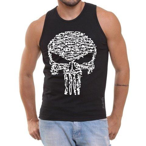 779f5732ae685 Kit 3 Camisetas Regatas Justiceiro Promoção - R  120