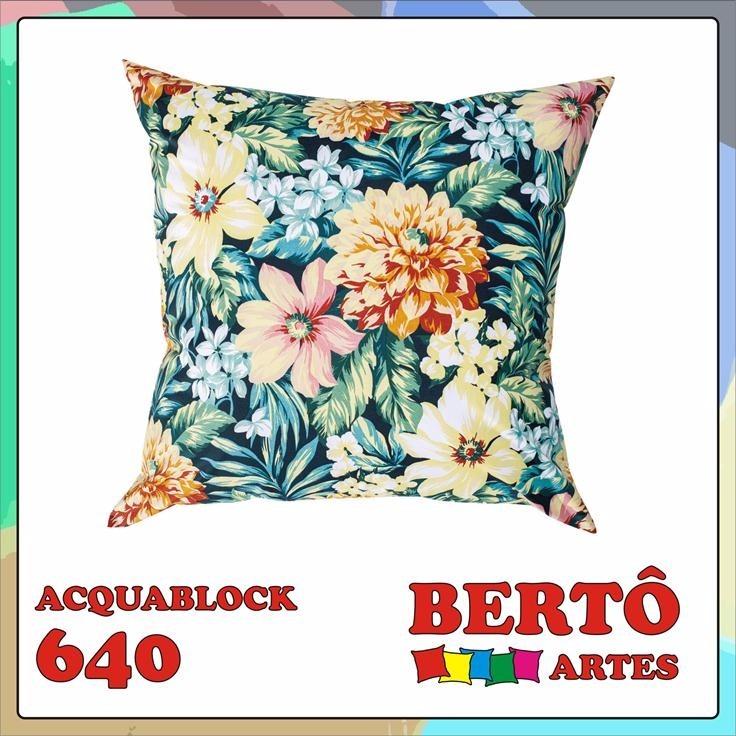 01c3cd61a Kit 3 Capas De Almofada Decorativa - Acquablock Azul - R  89