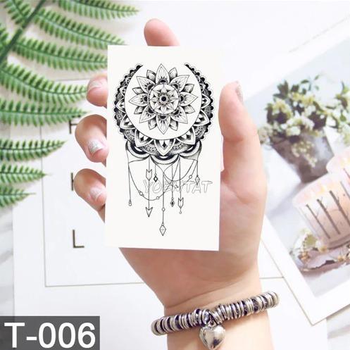 kit 3 cartelas tatuagem temporária à prova d água tatoo fake