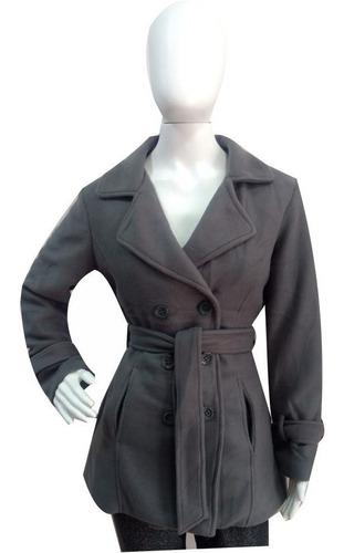 kit 3 casacos lã batida sobretudo blusa roupa frio cinza 6b