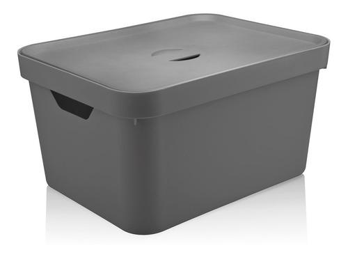 kit 3 cesto caixa organizadora cube roupa closet c/ tampa ou