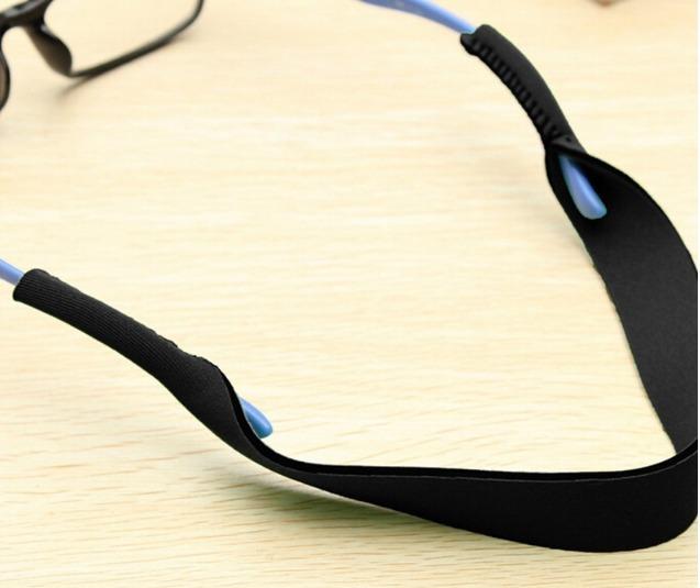 0d4bfe7d9b56e Kit 3 Cinta Cordão Neoprene Para Óculos Prendedor - R  30,00 em ...