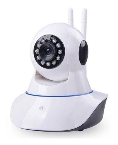 kit 3 câmera ip visão noturna 720p audio wifi grava celular