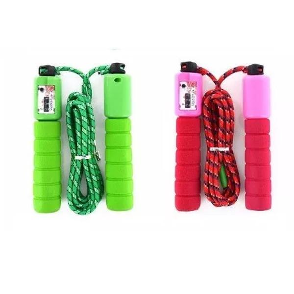 d79fd2d936 Kit 3 Cordas De Pular Para Exercícios Jump Rope - Crossfit - R  99 ...