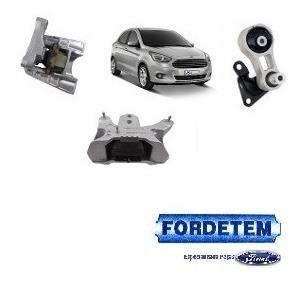 Kit 3 Coxim Motor E Cambio Ford Ka 1 5 Anos 2014 Original R