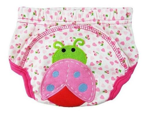 kit 3 cuecas/calcinhas treinamento p/ desfralde dos bebes