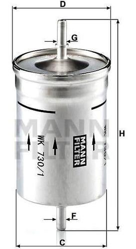 kit 3 filtros mann audi a3 1.8t 20v aqa (12/1996 - 05/2003)