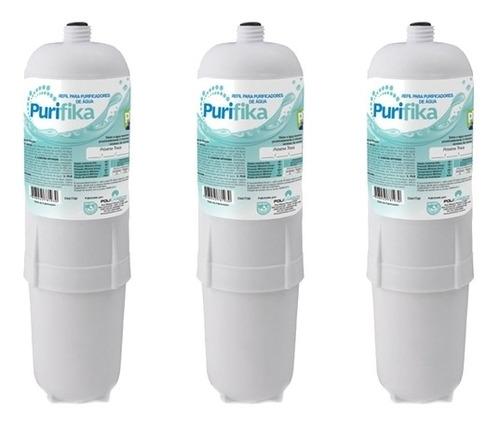 kit 3 filtros refil purificador de agua soft everest