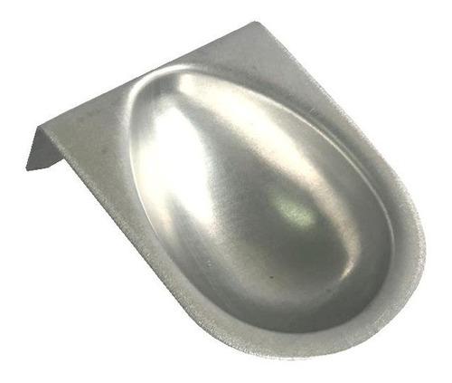 kit 3 formas ovo de páscoa alumínio pequena média grande