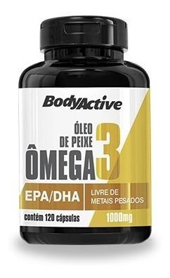 kit 3 frascos de óleo de peixe ômega 3 1000 mg 120 cápsulas