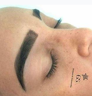 kit 3 hennas sobrancelha makiaj efeito natural + 1 dappen