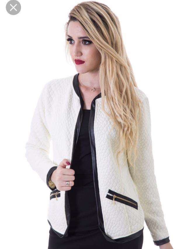 1ab88d0e20 kit 3 jaqueta blazer feminino matelassê inverno blusa casaco. Carregando  zoom.
