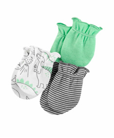 ebacc428b Luvas Para Bebe Carters 0 3 Meses Bebes Roupas - Bebês no Mercado ...