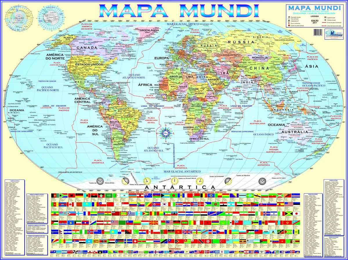 ver mapa mundo inteiro Kit 3 Mapas (mundi américa Sul brasil) Enrolados   R$ 34,90 em  ver mapa mundo inteiro