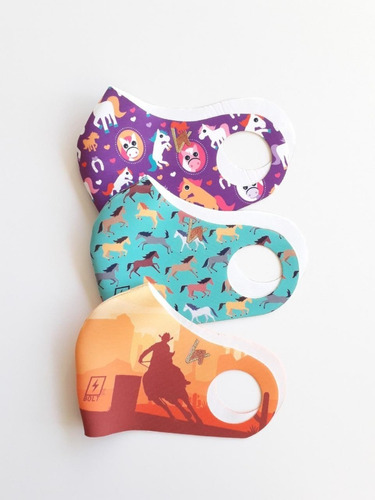 kit 3 máscaras mavolle bolt cavalo