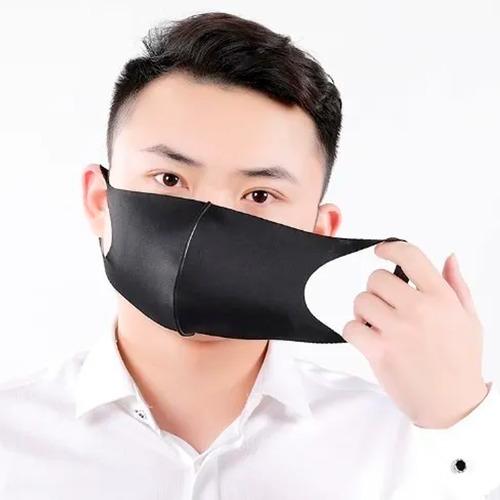kit 3 máscaras ninja anti poeira lavável qualidade manicure