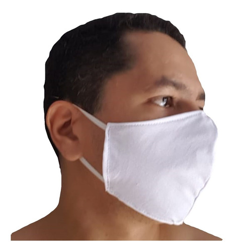 kit 3 máscaras proteção respiratória tecido envio imediato