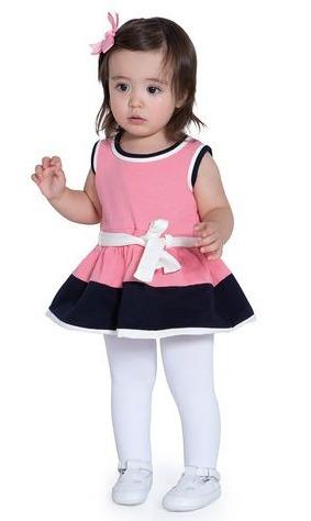 4fd48ea253ad81 Kit 3 Meia Calça Infantil Bebê Fio 80 Lobinha Lupo