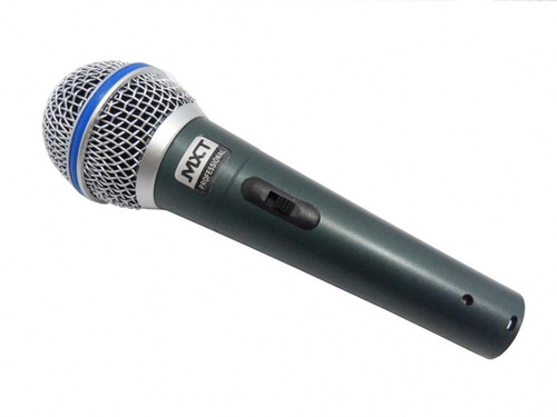 kit 3 microfones profissionais +maleta +cabo como shure sm58