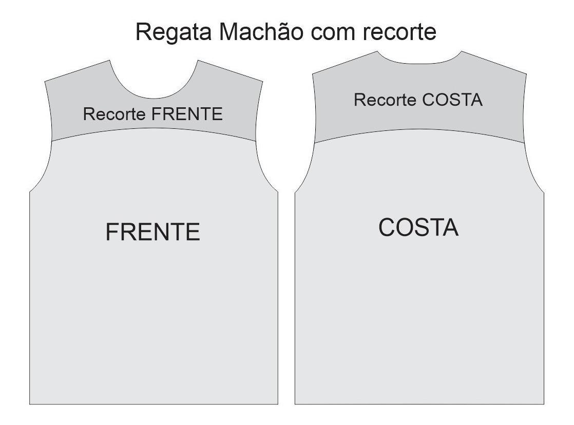 Kit 3 Moldes De Roupas A Sua Escolha Camisas Calcas Etc R 25