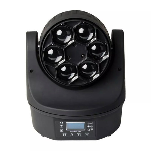kit 3 moving bee eye 6 leds osram de 15w rgbw quadriled loja