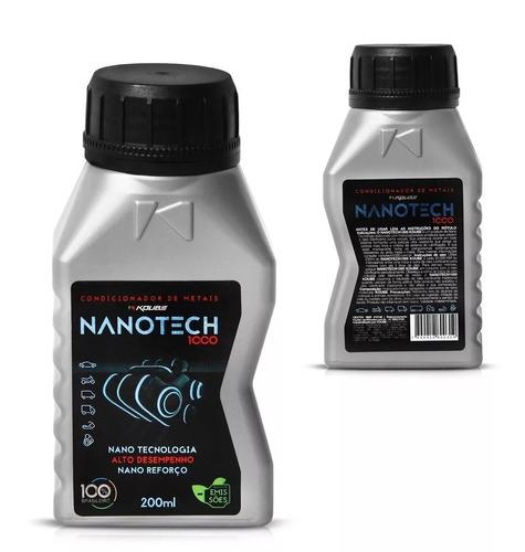 kit 3 nanotech 1000 condicionador de metais koube + brinde