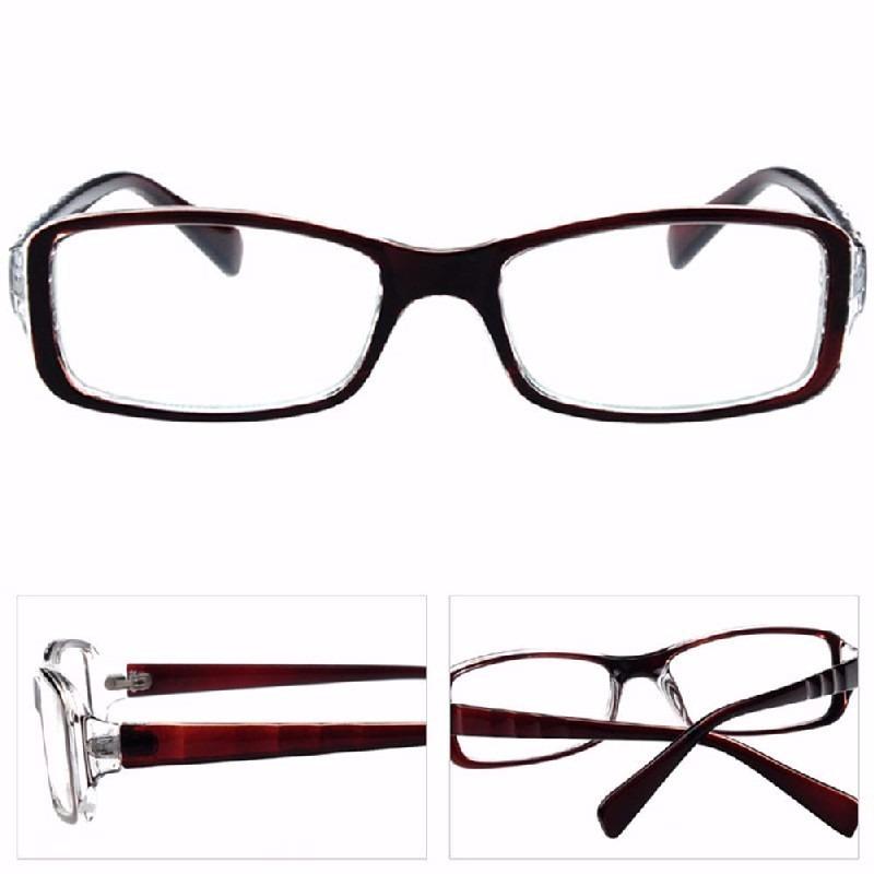 aa5999a1f1128 kit 3 óculos d grau acetato quadrado masculino feminino be. Carregando zoom.