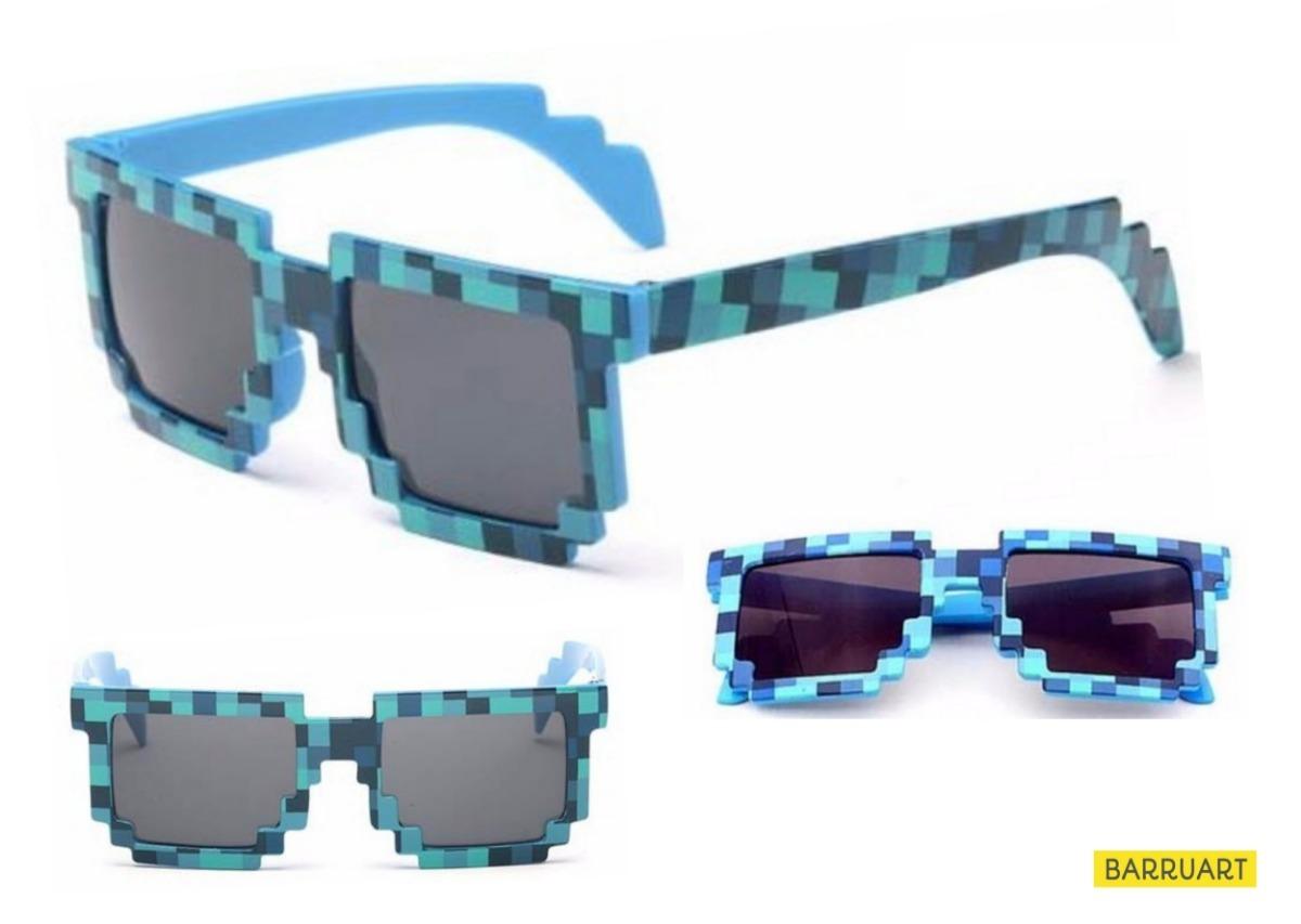 Kit 3 Óculos Infantis Coloridos Estilo Geek 8 Bits Gamer - R  69,90 ... 6cc798d777